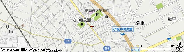 愛知県豊川市伊奈町(新町)周辺の地図