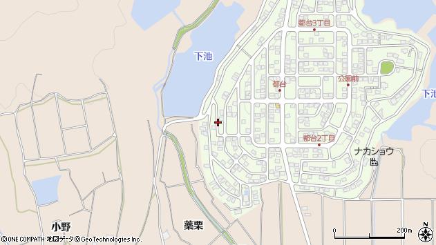 〒675-1215 兵庫県加古川市上荘町都台の地図