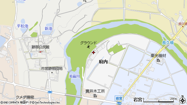 〒673-0415 兵庫県三木市府内の地図