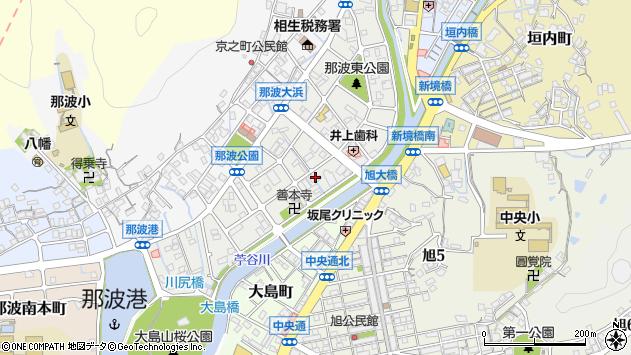 〒678-0051 兵庫県相生市那波大浜町の地図
