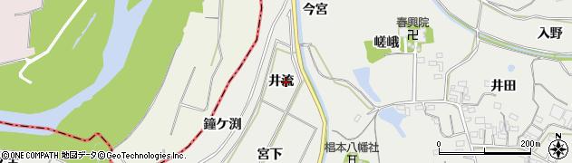 愛知県豊橋市石巻本町(井流)周辺の地図