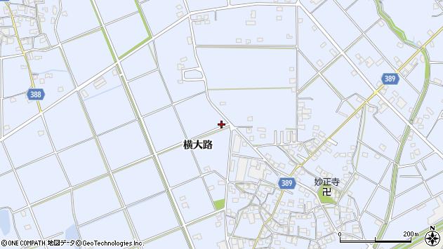 〒675-0332 兵庫県加古川市志方町横大路の地図