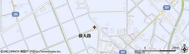 兵庫県加古川市志方町(横大路)周辺の地図