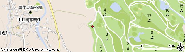 兵庫県西宮市山口町中野周辺の地図