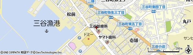 千賀周辺の地図