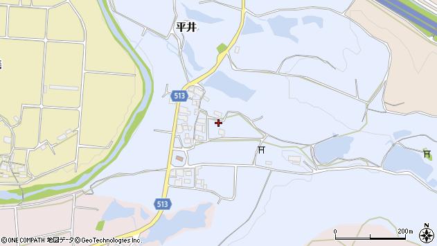 〒673-0421 兵庫県三木市平井の地図