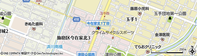 八子木周辺の地図
