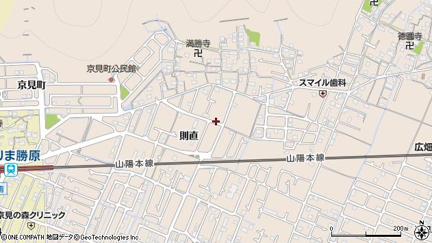 〒671-1105 兵庫県姫路市広畑区則直の地図