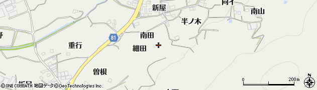 愛知県豊橋市石巻本町(南田)周辺の地図