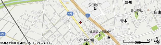 愛知県豊川市伊奈町(新町畑)周辺の地図