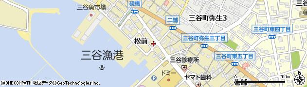 魚六周辺の地図