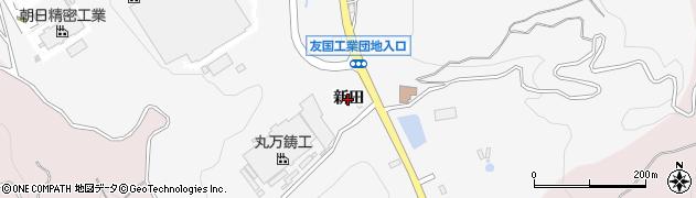 愛知県西尾市吉良町友国(新田)周辺の地図