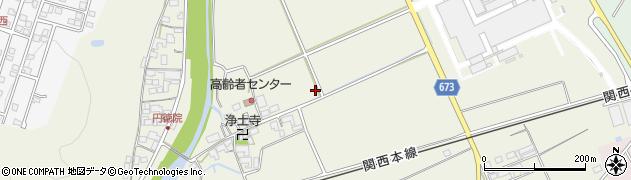 三重県伊賀市円徳院周辺の地図