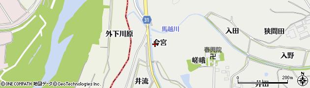 愛知県豊橋市石巻本町(今宮)周辺の地図