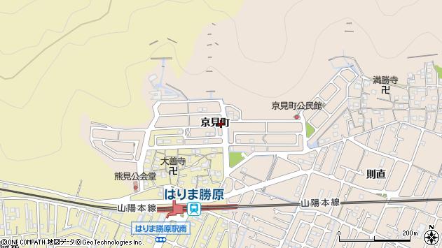 〒671-1106 兵庫県姫路市広畑区京見町の地図
