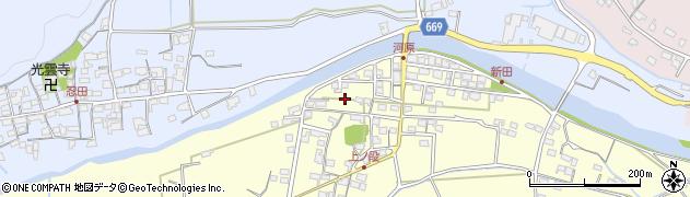 三重県津市芸濃町雲林院河原周辺の地図