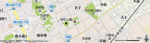 東勝寺周辺の地図