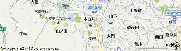 愛知県蒲郡市金平町周辺の地図