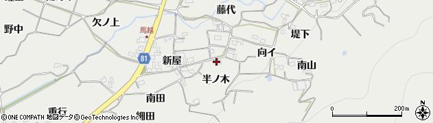 愛知県豊橋市石巻本町(半ノ木)周辺の地図