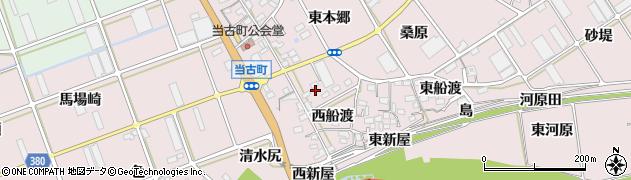愛知県豊川市当古町(西船渡)周辺の地図