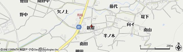 愛知県豊橋市石巻本町(新屋)周辺の地図
