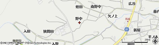 愛知県豊橋市石巻本町(野中)周辺の地図