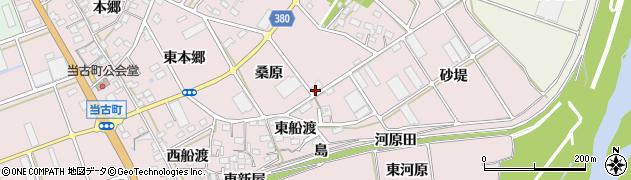愛知県豊川市当古町周辺の地図