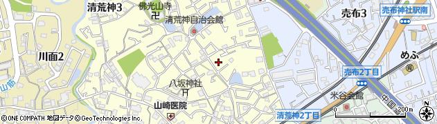 弥栄ハイツ周辺の地図