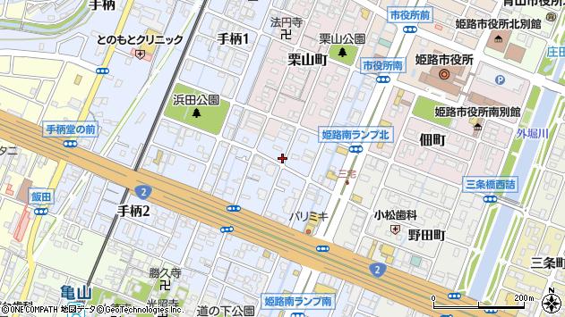 〒672-8048 兵庫県姫路市飾磨区三宅の地図