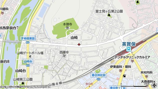〒672-8097 兵庫県姫路市飾磨区山崎の地図