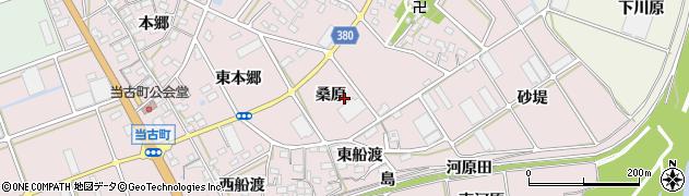 愛知県豊川市当古町(桑原)周辺の地図