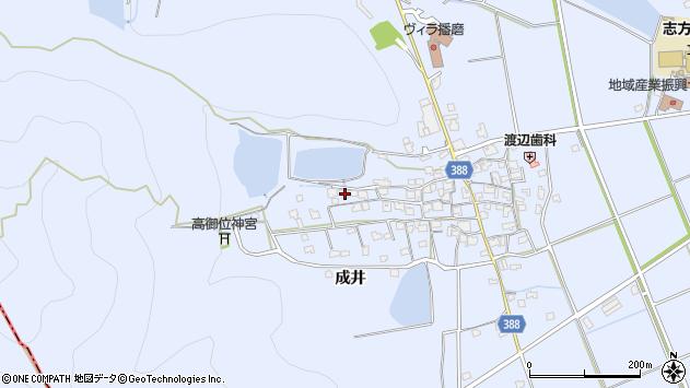 〒675-0334 兵庫県加古川市志方町成井の地図