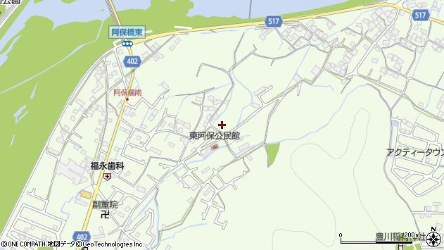 〒671-0247 兵庫県姫路市四郷町東阿保の地図