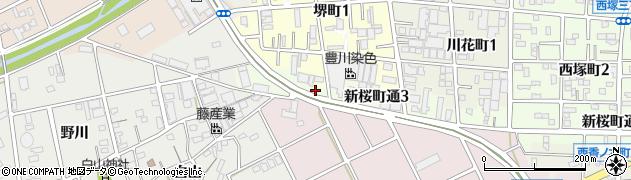 和楽亭周辺の地図