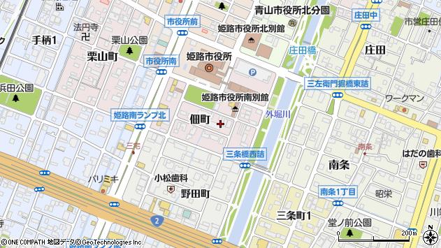 〒672-8049 兵庫県姫路市佃町の地図