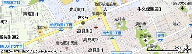 スナック道周辺の地図
