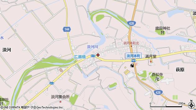 〒651-1603 兵庫県神戸市北区淡河町淡河の地図