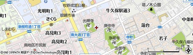 愛知県豊川市光輝町周辺の地図