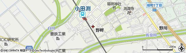 名門周辺の地図