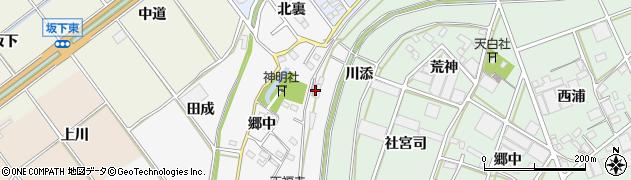 愛知県豊川市瀬木町(古川)周辺の地図