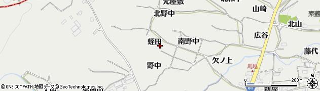 愛知県豊橋市石巻本町(蛭田)周辺の地図