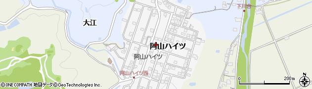 三重県伊賀市阿山ハイツ周辺の地図