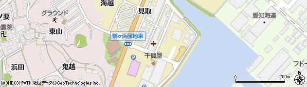 愛知県蒲郡市拾石町(浅岡)周辺の地図