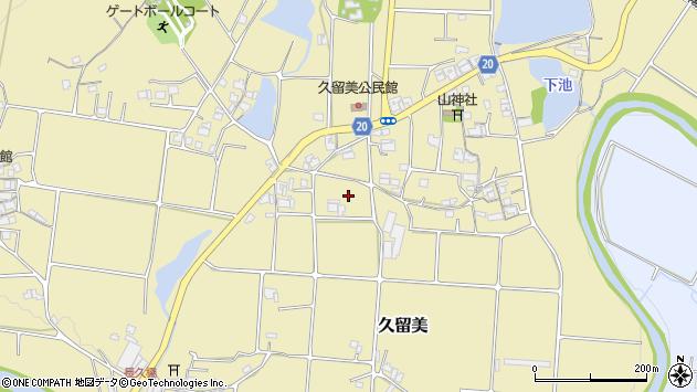 〒673-0411 兵庫県三木市久留美の地図