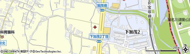 キコーナ 川西加茂店周辺の地図