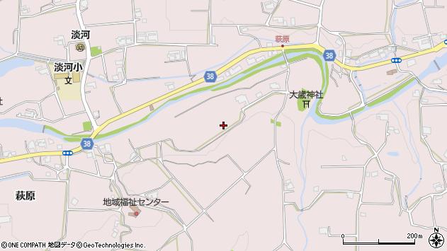 〒651-1615 兵庫県神戸市北区淡河町萩原の地図