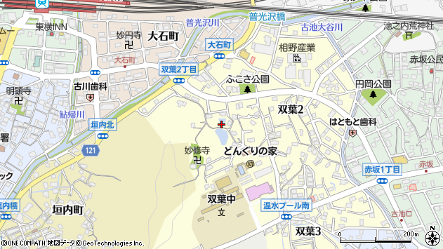 〒678-0024 兵庫県相生市双葉の地図