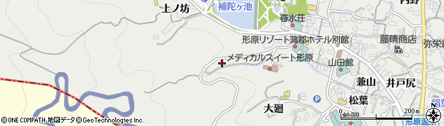 愛知県蒲郡市金平町(一ノ沢)周辺の地図