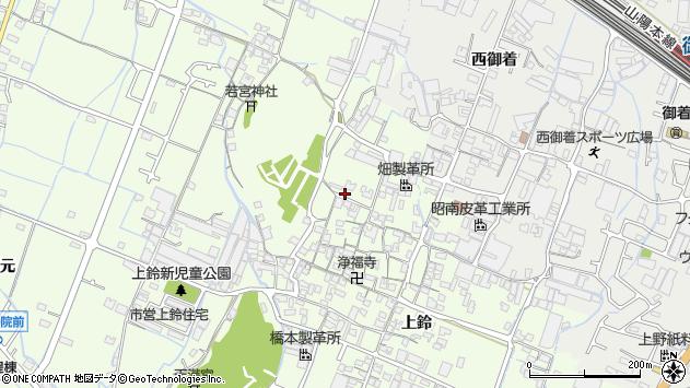 〒671-0241 兵庫県姫路市四郷町上鈴の地図