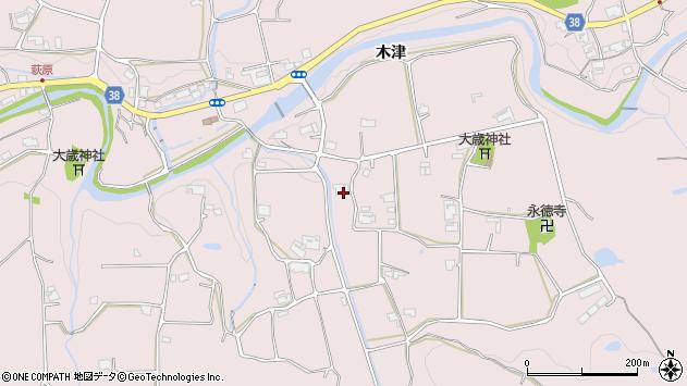 〒651-1614 兵庫県神戸市北区淡河町木津の地図